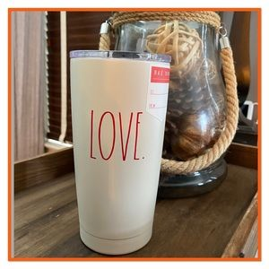 "RAE DUNN ""Love"" Insulated Beverage Tumbler  NWT"